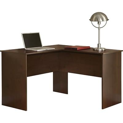 image corner computer. Easy2Go Corner Computer Desk, Resort Cherry Image