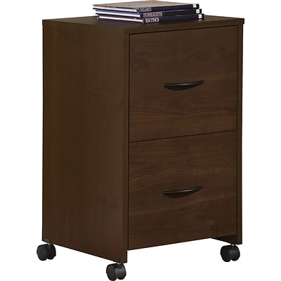 Easy2Go 2 Drawer Mobile File Cabinet, Resort Cherry (9527 207P)