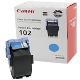 Canon CRG-102C Cyan Toner Cartridge (9644A006AA); High Yield