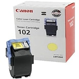 Canon CRG-102Y Yellow Toner Cartridge (9642A006AA); High Yield