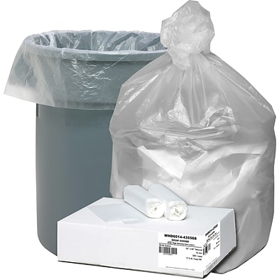 Ultra Plus Trash Bags, 55-60 Gallons, .55 Mil thickness
