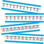 Carson-Dellosa Publishing 110215 Number Line Bulletin Board Set, Assorted