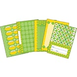 Carson-Dellosa Lemon Lime,  Bulletin Board Set