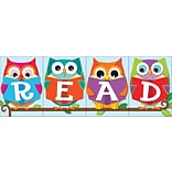 Carson-Dellosa Whooo Loves Reading?,  Bulletin Board Set