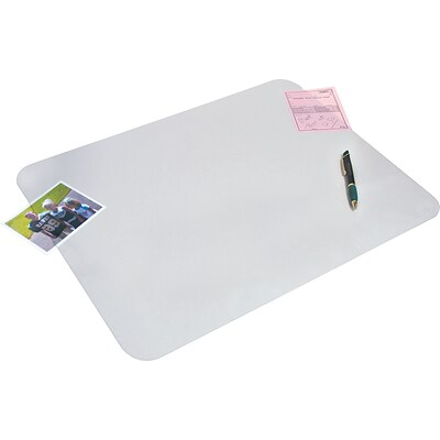 Artistic Krystal View™ Desk Pads with Microban®, Non-Glare, 19Hx24W
