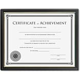 Lorell Ready-to-use Frame with Certificate of Achievement, Black