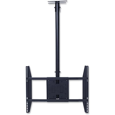 Lorell Ceiling Mount for Flat Panel Display, Black