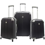 Beverly Hills Country Club BH6800 Malibu 3-Piece Hardside Spinner Luggage Set, Gray
