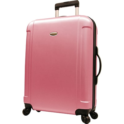 Travelers Choice® TC2400 FREEDOM 29 Hard-Shell Wheeled Upright Luggage Suitcase, Pink