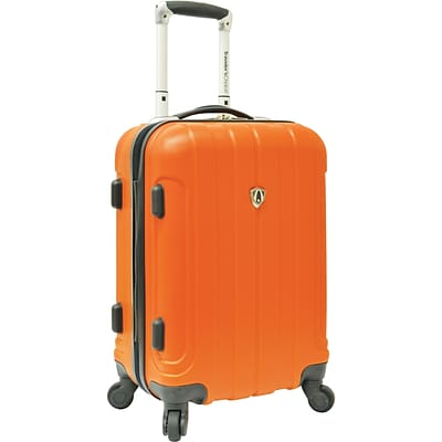 Travelers Choice® TC3800 Cambridge 20 Hardsided Carry-On Spinner Luggage Suitcase, Orange