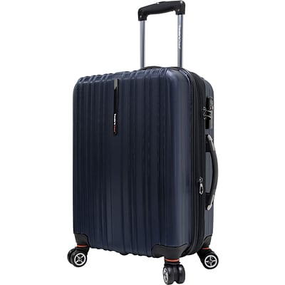 Travelers Choice® TC5000 Tasmania 21 Expandable Spinner Luggage Suitcase, Navy