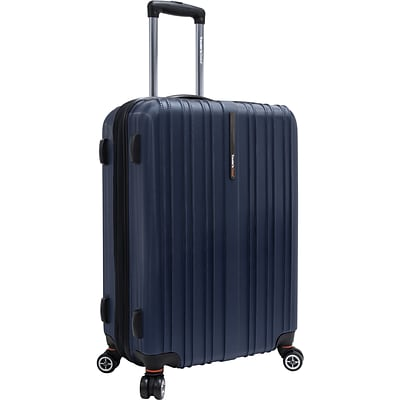 Travelers Choice® TC5000 Tasmania 25 Expandable Spinner Luggage Suitcase, Navy