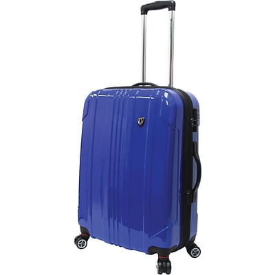 Travelers Choice® TC8000 Sedona 25 Expandable Spinner Luggage Suitcase, Blue