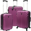 Travelers Choice® TC8500 Cape Verde 3-Piece Hardsided Ultra Lightweight Luggage Set, Lavender