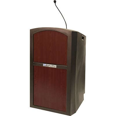 AmpliVox Sound Systems Pinnacle Sound Lectern, Maple (SW3250-MP)