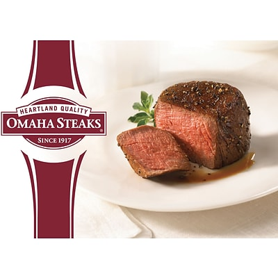 Omaha Steaks Gift Card, $100