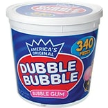 Dubble Bubble Gum, 340 Pieces