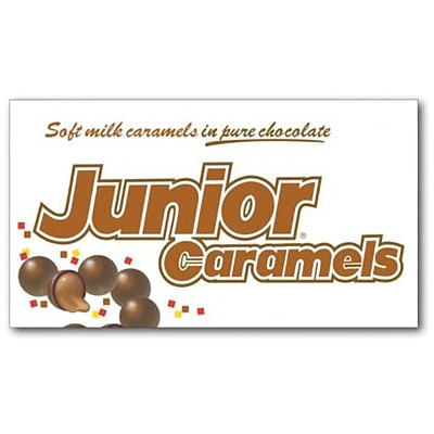 Junior Caramels, 4 oz. Theater Box, 12 Boxes