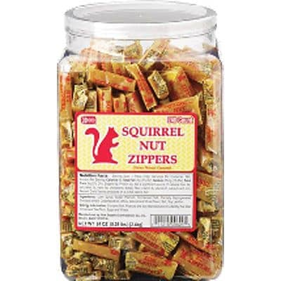 Squirrel Nut Zippers, 240 Pieces/Tub