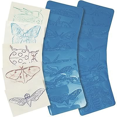 Roylco® Craft Rubbing Plates, Insects