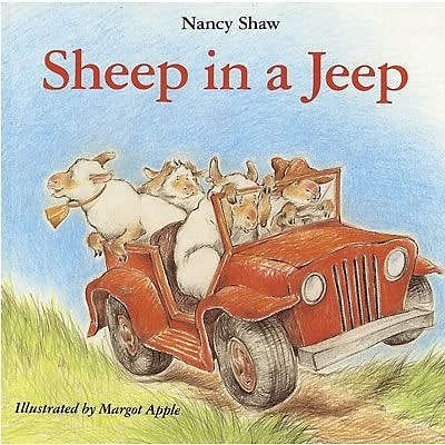 Classroom Favorite Books, Sheep in a Jeep