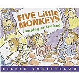 Classic Childrens Books, Five Little Monkeys Jumping on the Bed, Paperback