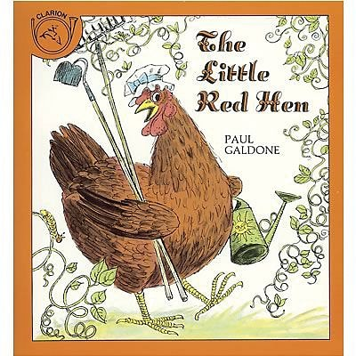 Classic Childrens Books, The Little Red Hen, Paperback