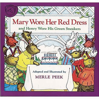 Favorite Character Books, Mary Wore Her Red Dress