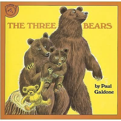 Classic Childrens Books, The Three Bears, Paperback