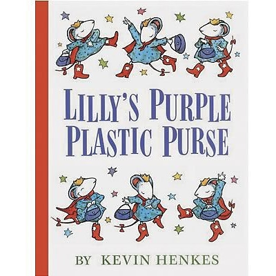 Favorite Character Books, Lillys Purple Plastic Purse