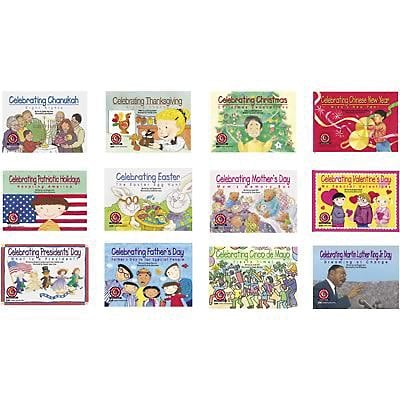 Creative Teaching Press® Learn to Read Holiday Series, Variety Pack
