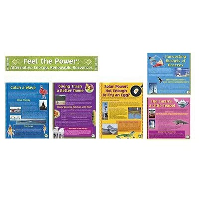 North Star Bulletin Board Sets, Alternative Energy, Renewable Resource