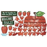 Welcome Apple Puzzle Bulletin Board Sets