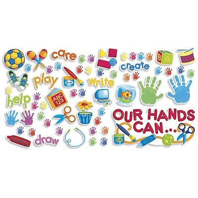 Teachers Friend Bulletin Board Sets, Our Hands Can