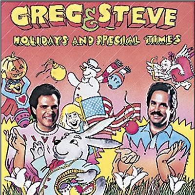 Greg & Steve CDs, Holidays and Special Times
