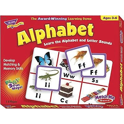 Trend® Match Me® Games, Alphabet