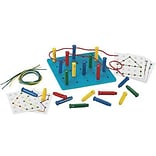 Stringing Pegs & Pegboard Beads & Lacing Set