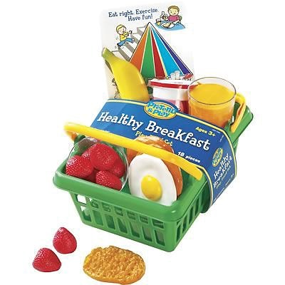 Learning Resources® Pretend Food, Pretend & Play®, Healthy Breakfast Set
