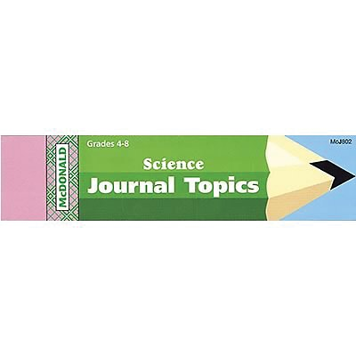 McDonald Journal Booklets, Science