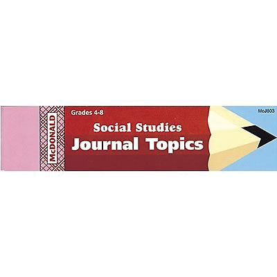 McDonald Journal Booklets, Social Studies