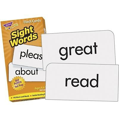 Trend Enterprises® Sight Words Skill Drill Flash Cards, Grades 1st - 2nd