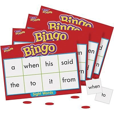 Trend® Bingo Games; Sight Words
