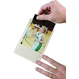 Ashley® Clear Self-Adhesive Photo/Index Card Pocket, 6(H) x 4(W) (ASH10407)