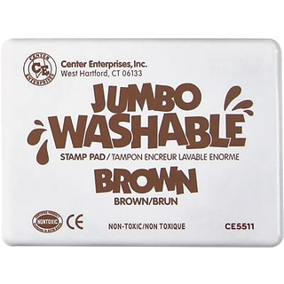 Center Enterprises Brown Washable Stamp Pad