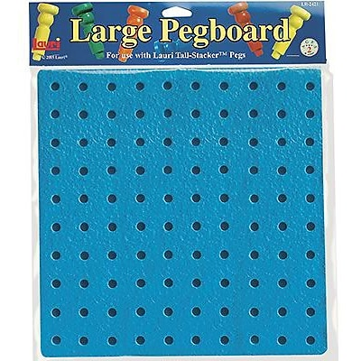 Lauri® Toys Tall Stacker™ Pegboards, 11-1/2