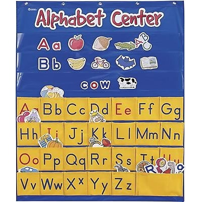 Learning Resources® Pocket Charts, Alphabet Center