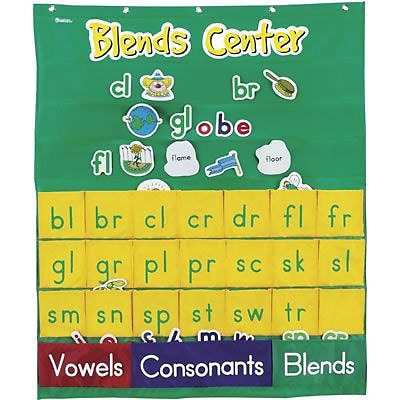 Learning Resources® Pocket Charts, Blends Center