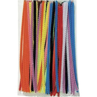Chenille Kraft® Chenille Stems; Assorted,  6