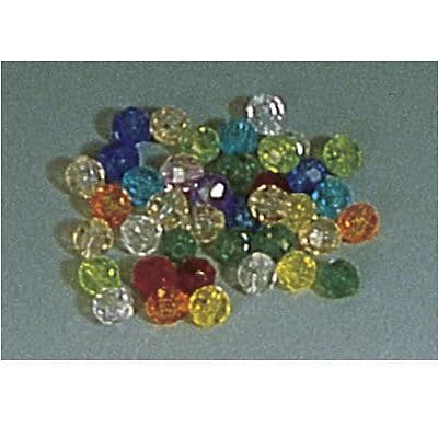 Hygloss Bucket O' Beads, Assorted Colors, 450/Pack (HYG6821)