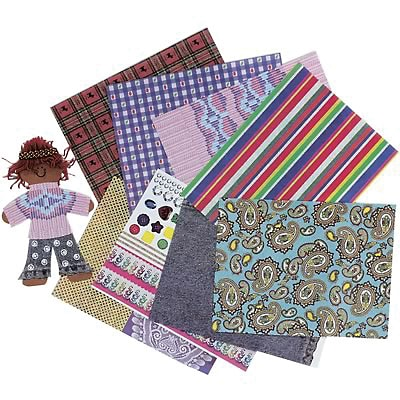 Roylco® Craft Papers, Fabulous Fabric